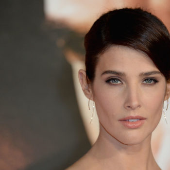 Cobie Smulders wore a sexy red carpet suit and it's seriously #stylegoals