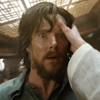 Benedict Cumberbatch didn't know who Dr. Strange was before the role and we are like whoa