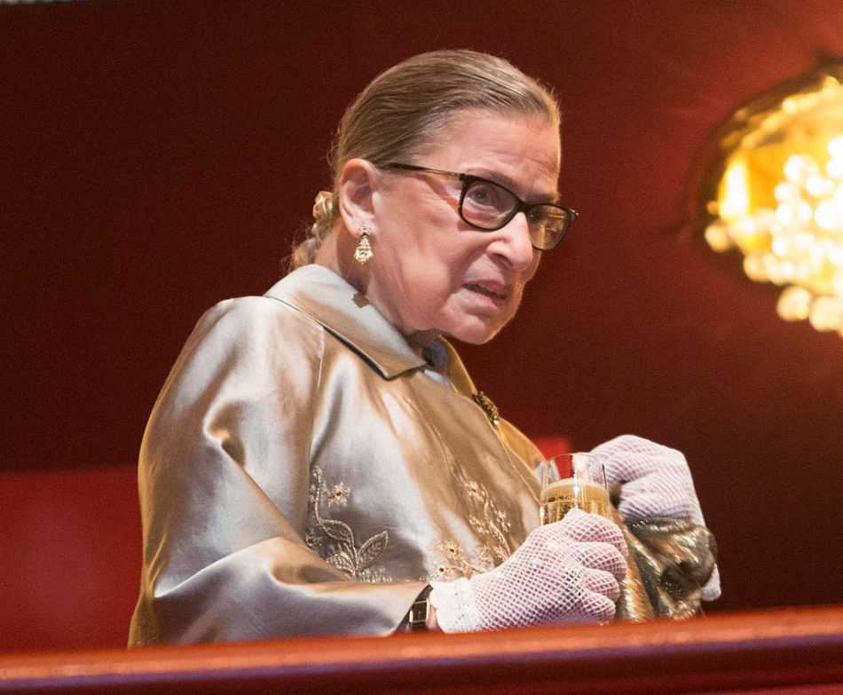 Ruth Bader Ginsburg will perform in an opera because anything is possible