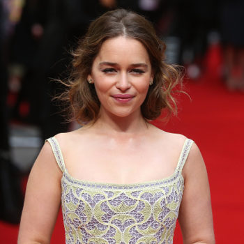 It's Emilia Clarke's 30th birthday, and she seems kind of worried about it