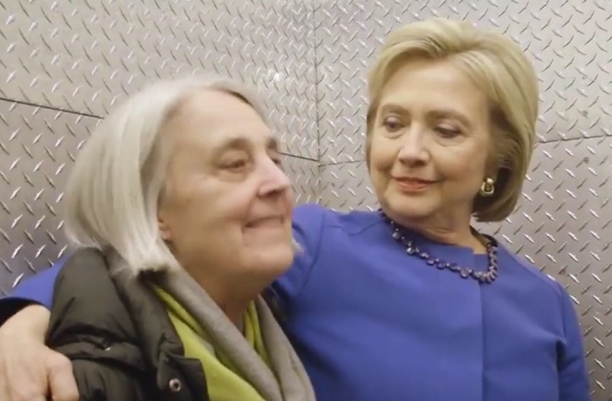 Hillary Clinton's BFFs watch the debate, and it's serious #friendshipgoals