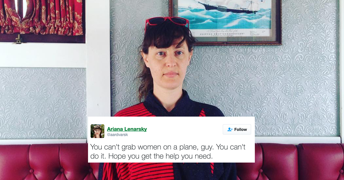 This woman live-tweeted her experience after being groped on a plane and it's not okay