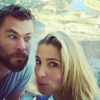 Chris Hemsworth just debunked this rumor about his marriage in the best way ever