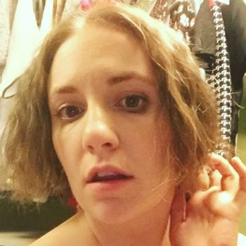Lena Dunham explains why cutting your own hair is an awesome experience