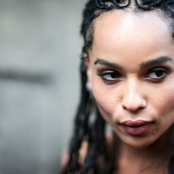 Zoë Kravitz has TOTALLY different hair now, because she's actually the queen of all things edgy