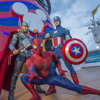You can now take a Disney Cruise with your favorite Marvel heroes, and our bags are packed