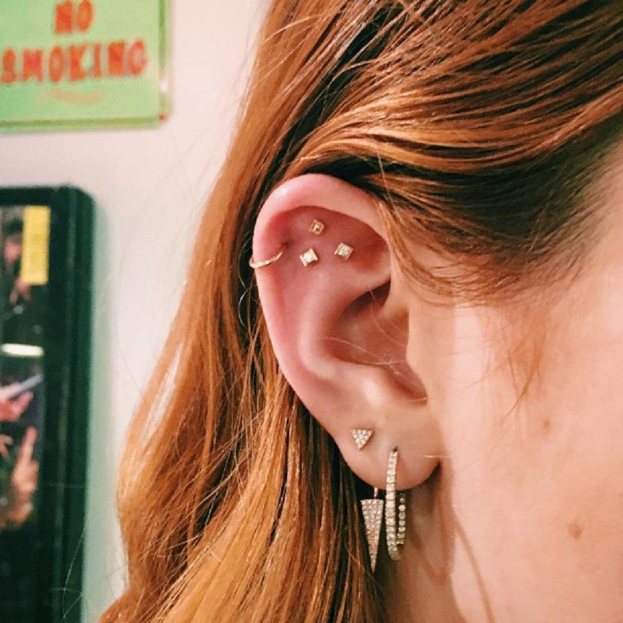 """Constellation ear piercings"" are the lovely new trend that will leave you starry-eyed"