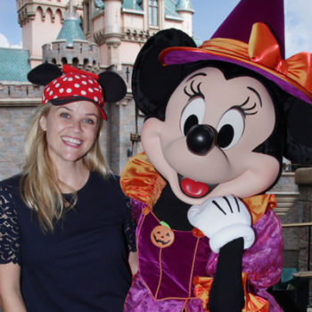 Reese Witherspoon and her son Tennessee go to Disneyland for Halloween looking super adorable