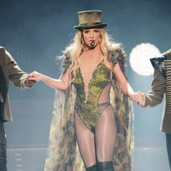 Britney Spears had a major wardrobe malfunction during her Vegas show and rolled with it with so much chill