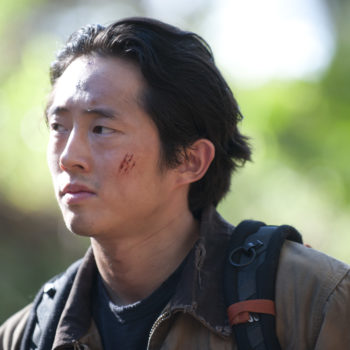 This behind-the-scenes pic of Steven Yeun will make you laugh then WEEP FOREVER