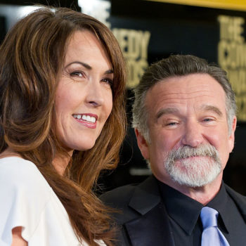 Robin Williams' wife gave a gorgeous speech about her husband, and we are crying
