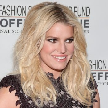 Jessica Simpson channeled her inner '70s diva in bell bottoms and a giant fur coat, and yes forever