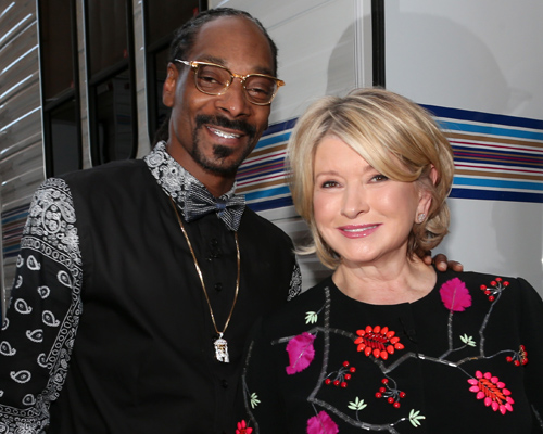 "Here's a first look video at Martha Stewart and Snoop Dog on ""Martha and Snoop's Potluck Dinner Party"""