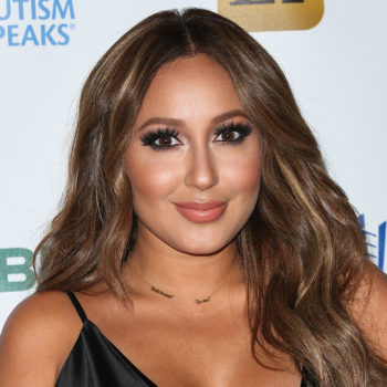 Adrienne Bailon is engaged and OMG, her ring is *so* out of control