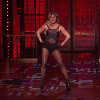 "See Laverne Cox SLAY this Nicki Minaj song on ""Lip Sync Battle"""