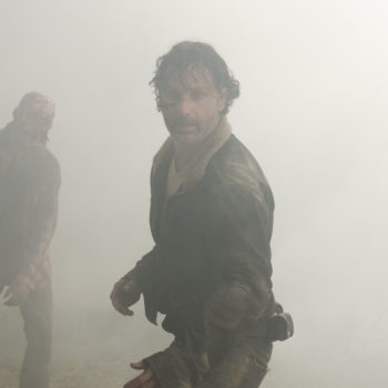 "TBH the season premiere of ""The Walking Dead"" might have been *too* violent"