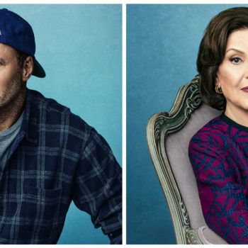 "We have three brand new posters for ""Gilmore Girls: A Year in the Life,"" now with Luke *and* Emily"