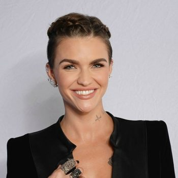OMG: We are so into Ruby Rose's new emo hair