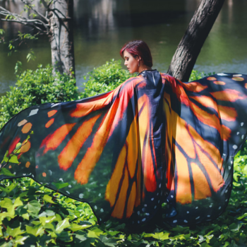 These capes are so gorgeous, they're all you need for a Halloween costume