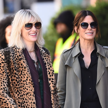 "Photos from the set of ""Ocean's Eight"" are here and it already looks badass"