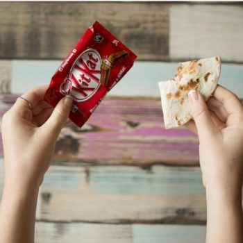 You can order a Kit-Kat quesadilla at Taco Bell, and we don't know how to feel