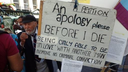 This 93-year-old gay man powerfully explains why he doesn't want a pardon from the U.K. government
