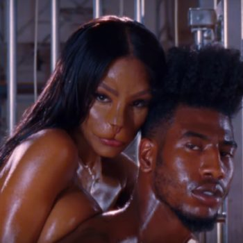 "Teyana Taylor's husband explained her ""Fade"" cat face and it's *so* inspirational"