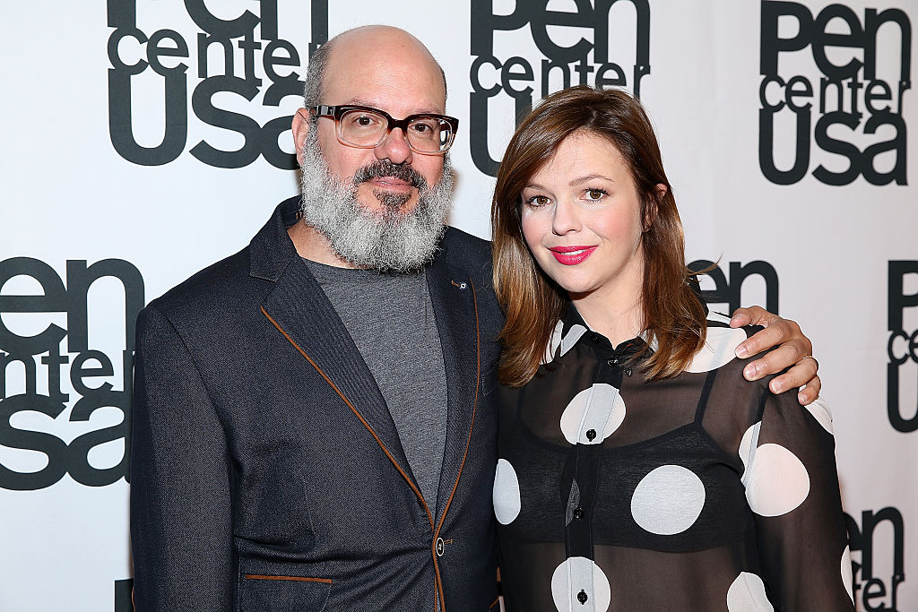 OMG! Amber Tamblyn is expecting a baby girl with husband David Cross
