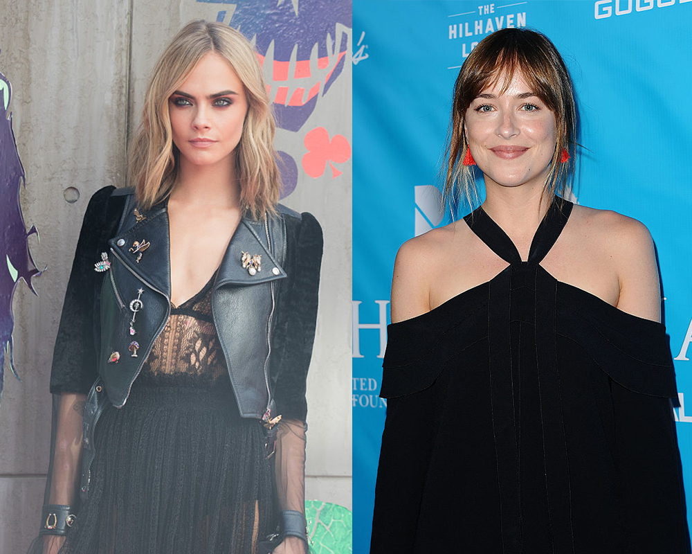 Our fave new Hollywood BFFs are Cara Delevingne and Dakota Johnson