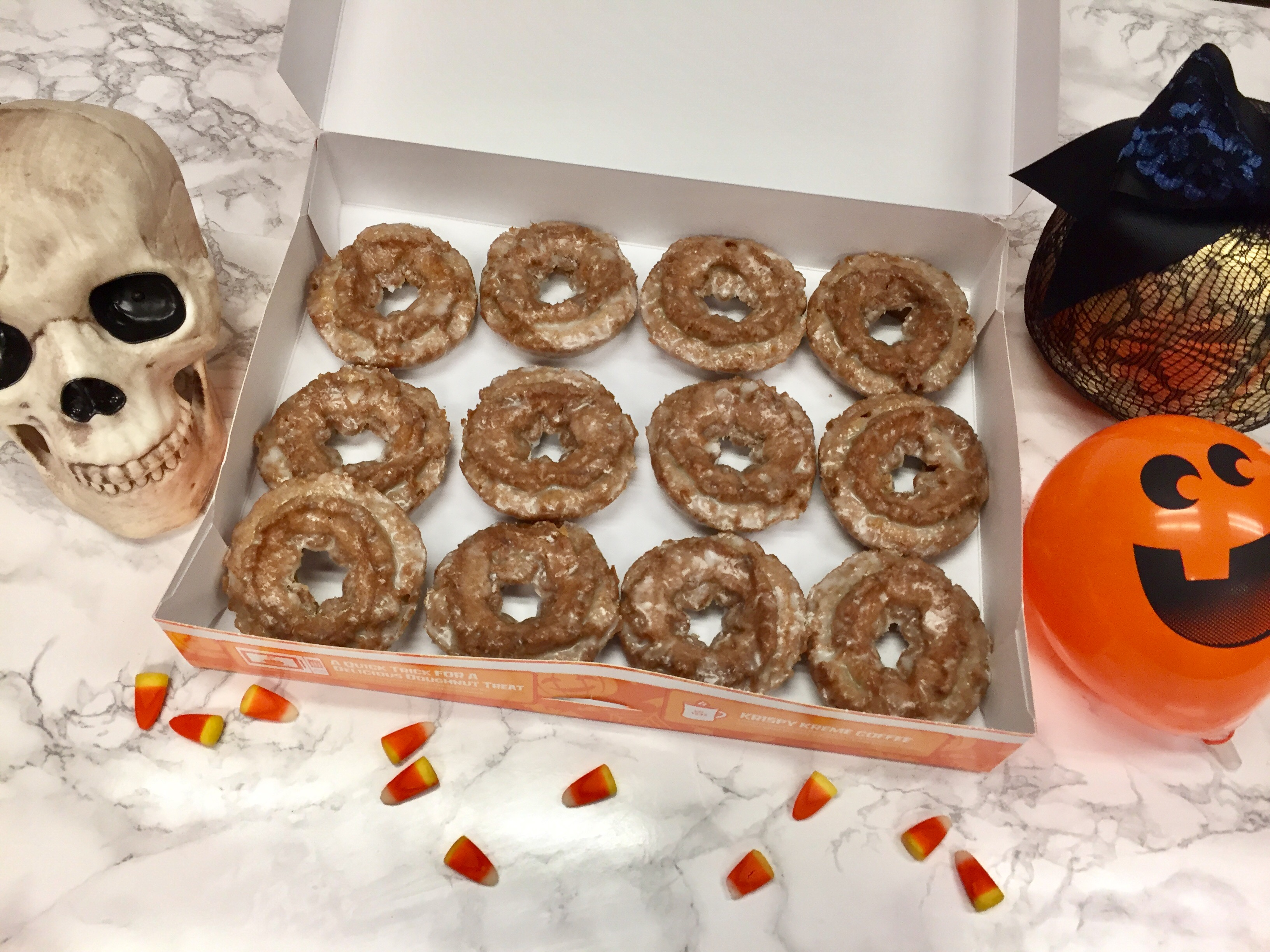 We tried Krispy Kreme's pumpkin spice donuts, and we're here to tell you they're DELICIOUS