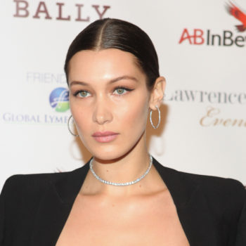 Bella Hadid is the latest celeb to join the #bangssquad