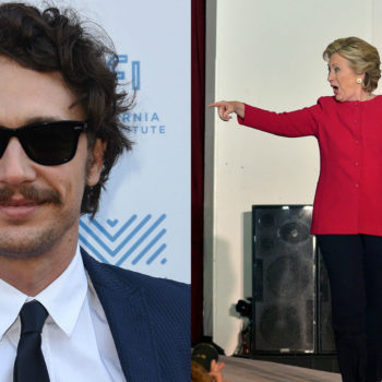 James Franco made the most ridic campaign video for Hillary Clinton (and we kinda love it)