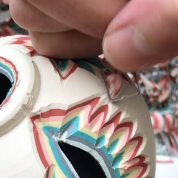 Videos of ceramics projects are SO bizarrely soothing, and we are not sorry for feeling that way