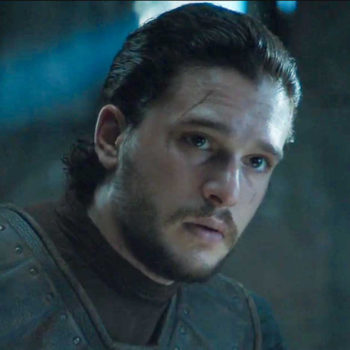 "These latest ""Game of Thrones"" spoiler photos show Jon Snow fighting with a former friend"