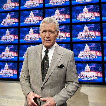 Alex Trebek rapped Drake lyrics on 'Jeopardy!' last night, so life isn't all bad