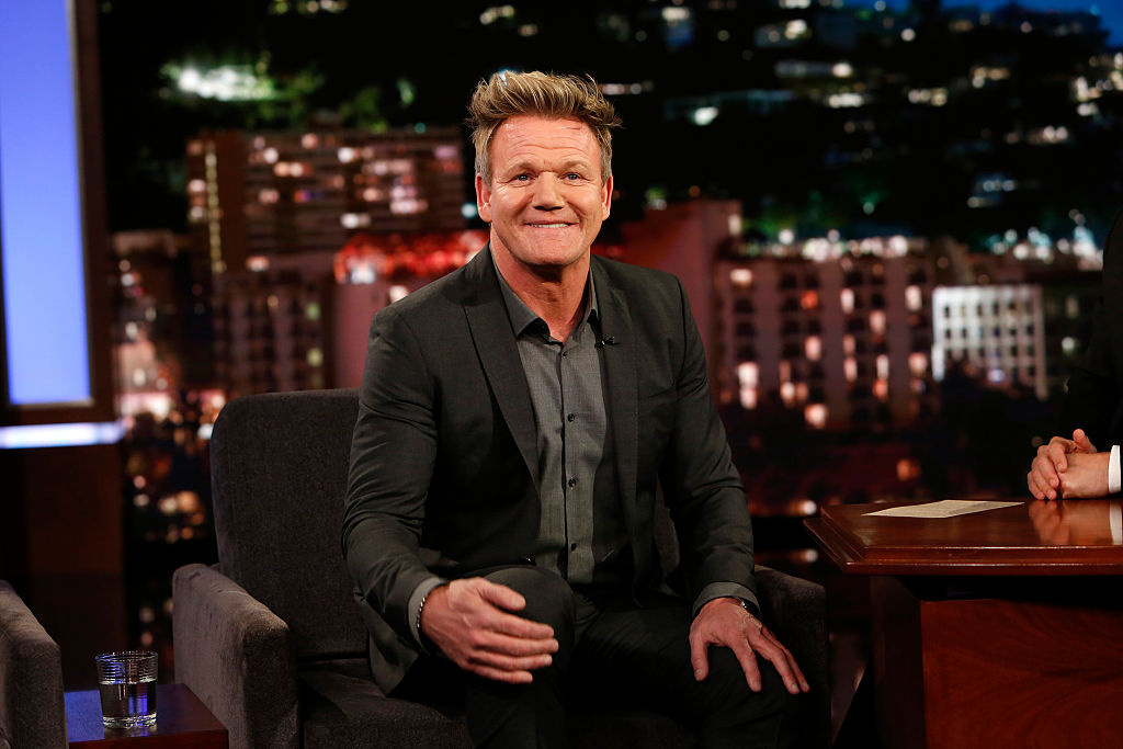 Gordon Ramsay bashed Halloween candy faves on 'Jimmy Kimmel' and it was predictably brutal