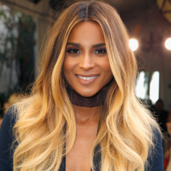 "Ciara shows off her tiny baby bump at the ""Vogue"" Fashion Fund event"