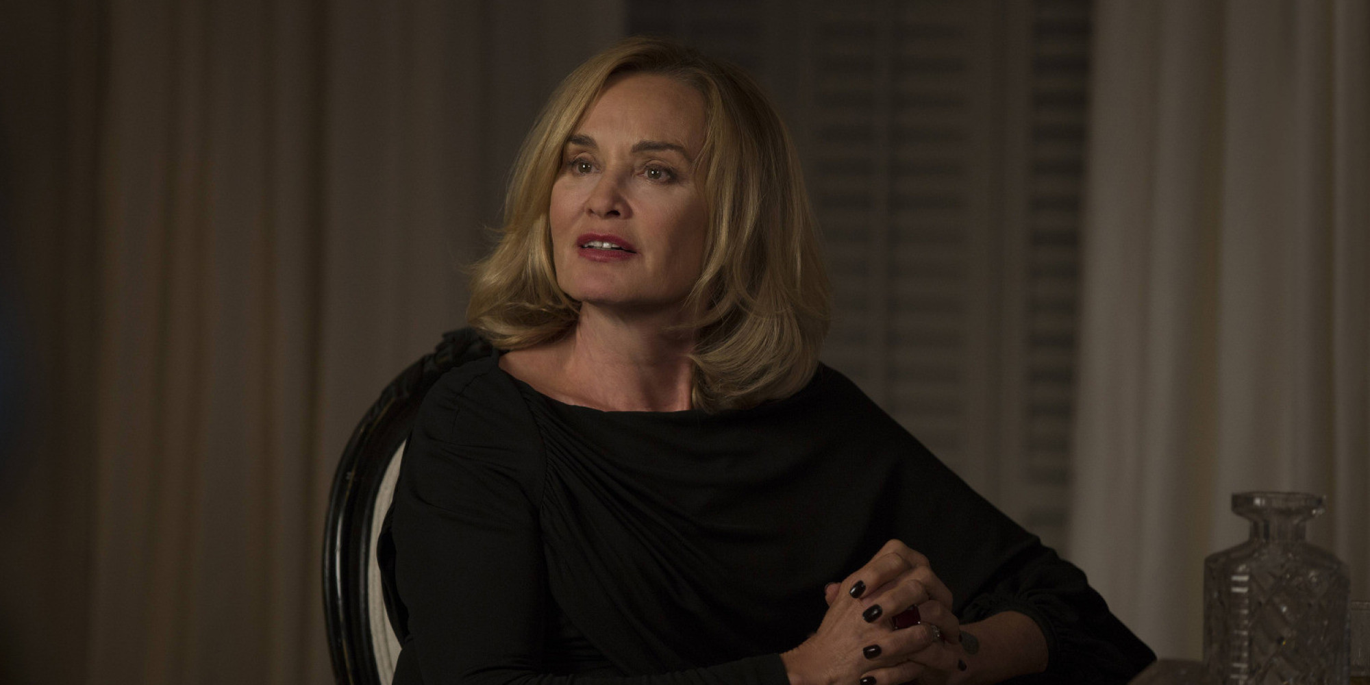 "Everyone's pretty upset about Jessica Lange on ""American Horror Story: Roanoke"""