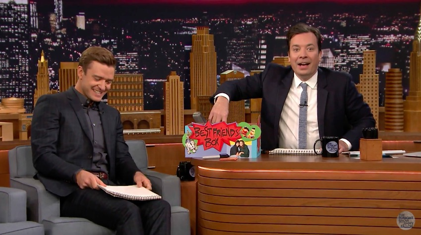 Jimmy Fallon and Justin Timberlake play The Best Friend Game and give us #FriendshipGoals for life