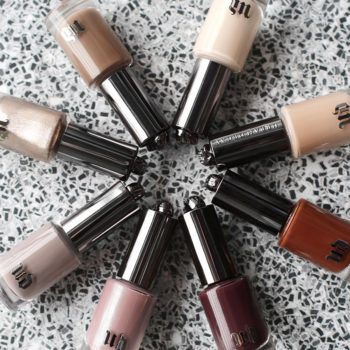 Thank you beauty goddesess: Urban Decay turned their famous Naked palettes into nail polish