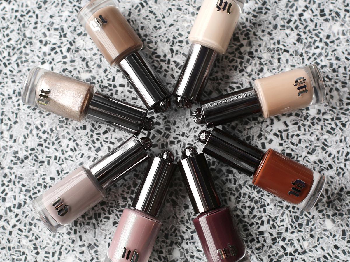 Thank the beauty goddesess: Urban Decay turned their famous Naked palettes into nail polish