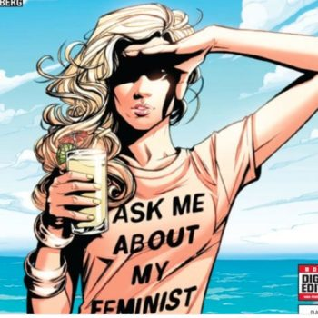 This comic book author was trolled for portraying a feminist Marvel character, and SERIOUSLY?!