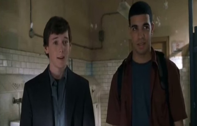 How could we ever forget that Drake was in an Anton Yelchin movie?