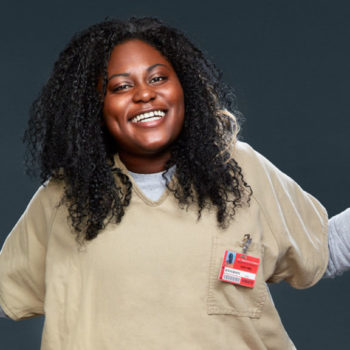 """Danielle Brooks (Taystee) from """"Orange is the New Black"""" reacting to her first billboard is so sweet"""