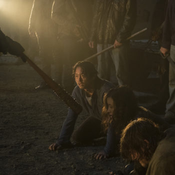 "You probably didn't catch this awful moment in the Season 7 premiere of ""The Walking Dead"""