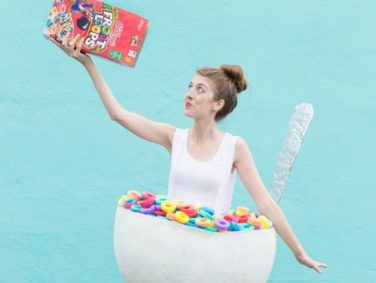 These are the three most-pinned food costumes for Halloween this year