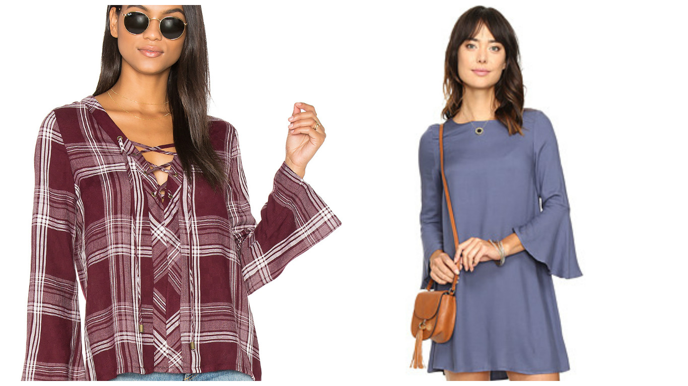 6 bell sleeve looks you need in your closet ASAP!