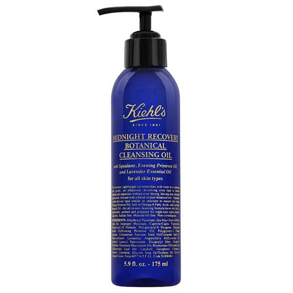 Kiehl's popular Midnight Recovery Concentrate has just been turned into a cleansing oil and our skin is already saying thanks