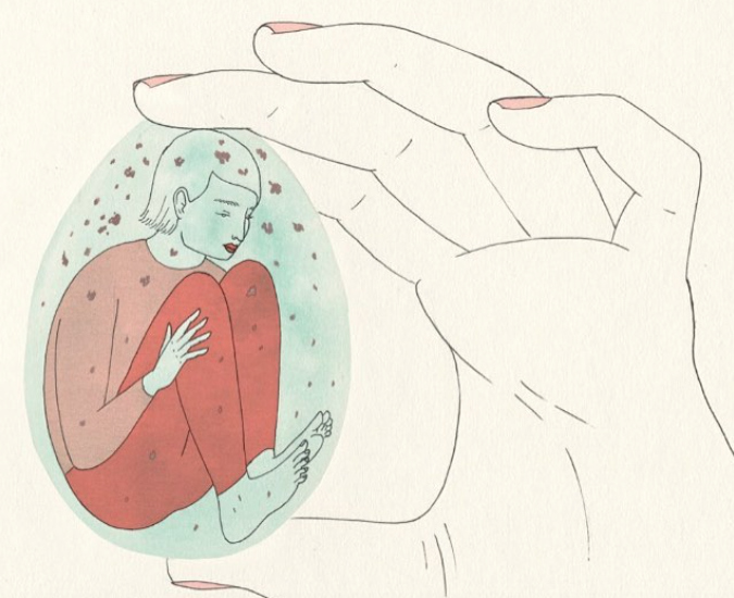 These soft and subtle illustrations are something out of our favorite, edgiest dreams