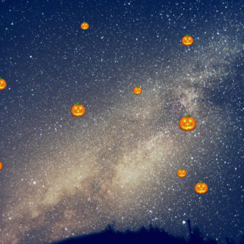 "NASA discovered ""pumpkin stars"" just in time for Halloween"